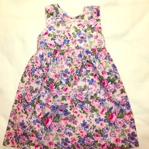 Floral Dress 👗 100% Cotton. Made in USA 🇺🇸